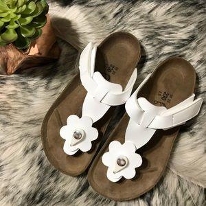 Birkenstock TOFINO Patent Flower Thong Sandal